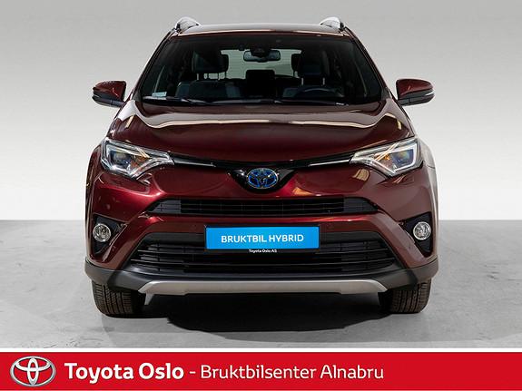 Toyota RAV4 Hybrid AWD 71n Edition Navi, DAB+, Automat,  2018, 14853 km, kr 454900,-