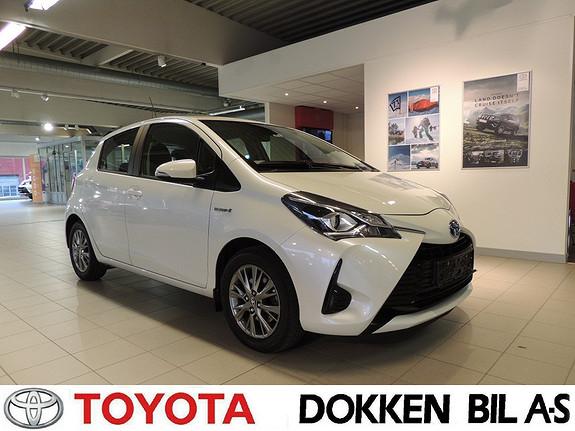 Toyota Yaris 1,5 Hybrid Active Go e-CVT aut  2017, 44700 km, kr 189000,-
