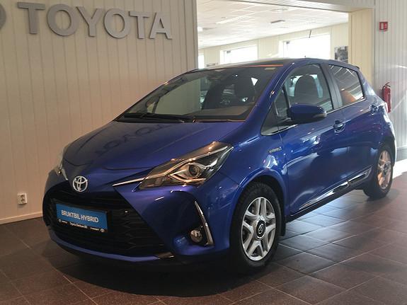 Toyota Yaris 1,5 Hybrid Style e-CVT HØY UTSTYRSGRAD/LAV KM  2017, 13235 km, kr 235000,-