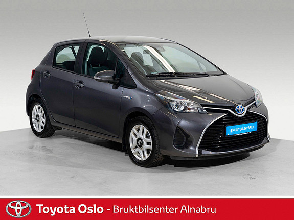 Toyota Yaris 1,5 Hybrid Active S e-CVT DEFA, Automat,  2015, 34473 km, kr 169900,-