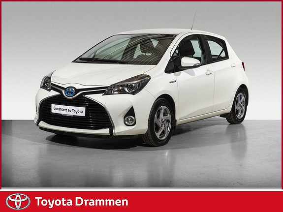 Toyota Yaris 1,5 Hybrid Active S e-CVT  2017, 25885 km, kr 194900,-