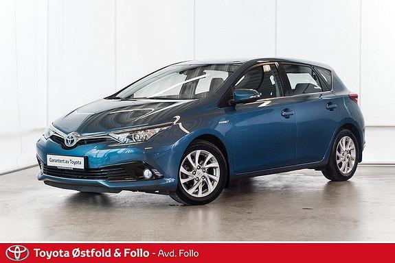 Toyota Auris 1,8 Hybrid E-CVT Active S  2016, 41643 km, kr 228000,-
