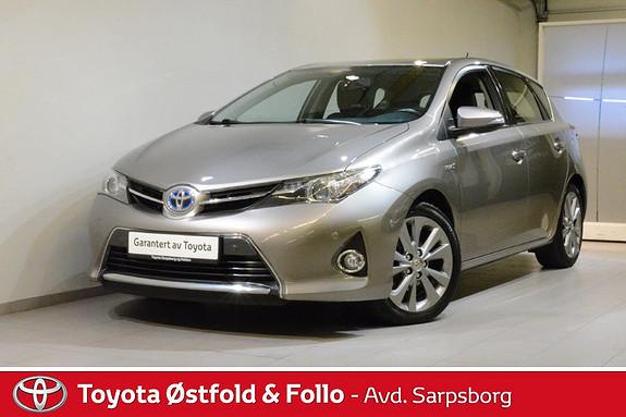 Toyota Auris 1,8 Hybrid E-CVT Active+  2014, 74700 km, kr 178000,-