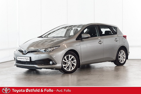 Toyota Auris 1,8 Hybrid E-CVT Active S  2016, 49588 km, kr 225000,-