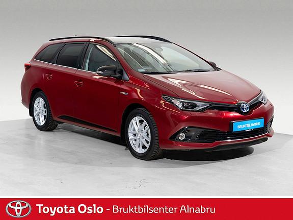 Toyota Auris Touring Sports 1,8 Hybrid Sport Vision Bi-Tone, SE KM!  2018, 3853 km, kr 319900,-