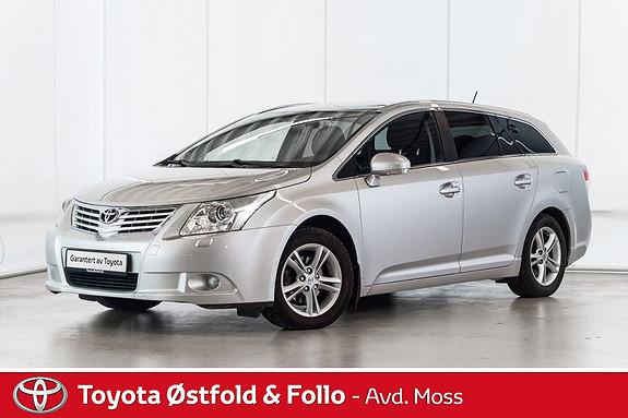 Toyota Avensis 2,0 D-4D DPF 126hk Advance /TILHENGERFESTE  2010, 123100 km, kr 134000,-