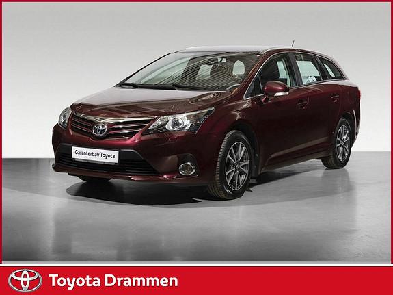 Toyota Avensis 1,6 132hk Advance  2012, 61130 km, kr 169000,-