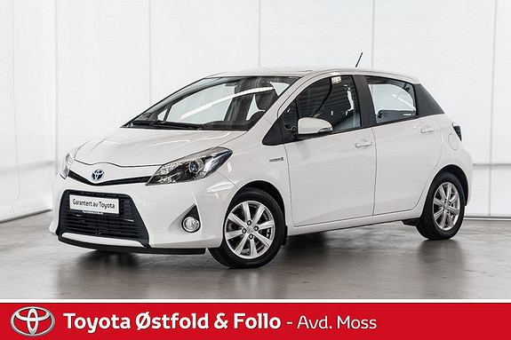 Toyota Yaris 1,5 Hybrid Active e-CVT /SJEKK KM STAND/EU TIL 30.09.20  2014, 26500 km, kr 143000,-