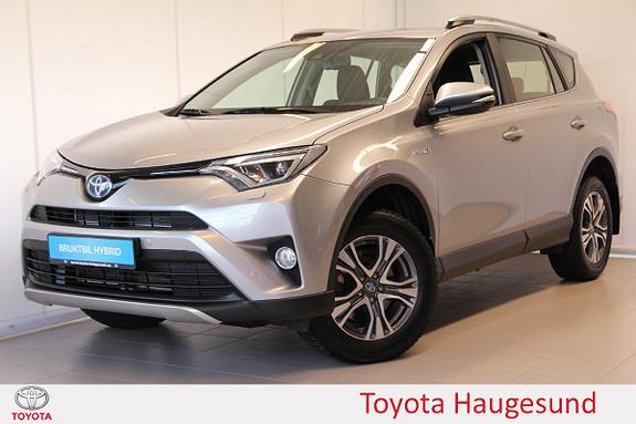 Toyota RAV4 Hybrid 2WD Active S Navi, kamera, cruise, DAB+, Tectyl  2017, 27604 km, kr 379000,-