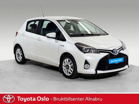 Toyota Yaris 1,5 Hybrid Active S e-CVT DAB+, Automat,  2017, 38490 km, kr 194900,-
