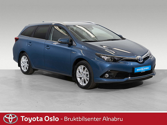 Toyota Auris Touring Sports 1,8 Hybrid Active Sport SE KM!!  2018, 1089 km, kr 299900,-
