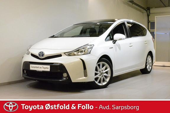 Toyota Prius+ Seven 1,8 VVT-i Hybrid Executive Skyview , SYKKELSTATIV/SKIN,  2015, 57100 km, kr 285000,-