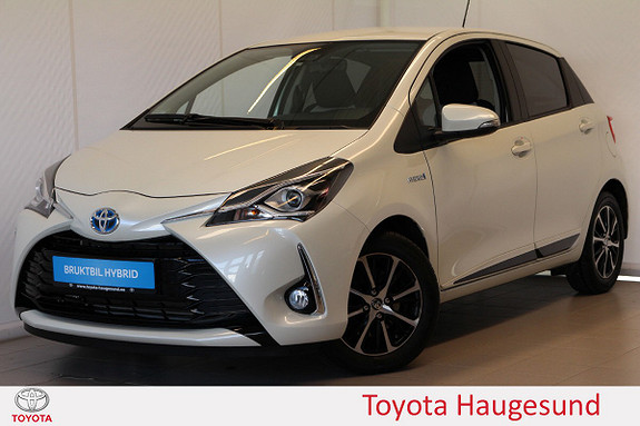 Toyota Yaris 1,5 Hybrid Active+ e-CVT aut Navi, kamera, DAB+, Tectyl  2018, 4943 km, kr 219000,-