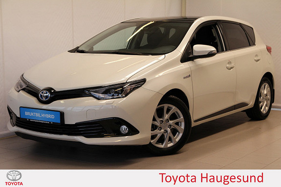 Toyota Auris 1,8 Hybrid E-CVT Sport Vision Glasstak, navi, Tectyl  2018, 7646 km, kr 289000,-
