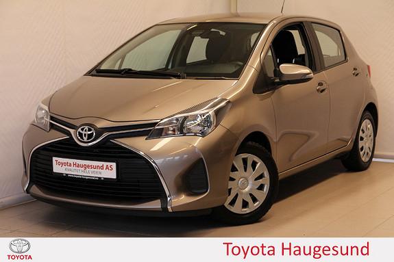 Toyota Yaris 1,0 Active Navi, Safety Sense, kamera, DAB+, Tectyl  2015, 47874 km, kr 139000,-