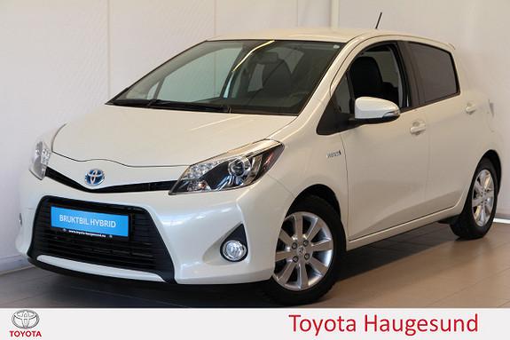 Toyota Yaris 1,5 Hybrid Style Delskinn, kamera, cruise, Bluetooth  2012, 36342 km, kr 139000,-