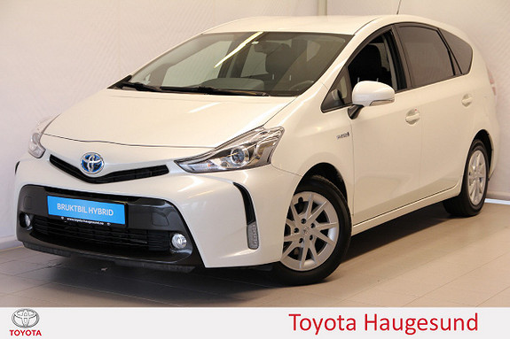 Toyota Prius+ Seven 1,8 VVT-i Hybrid Executive Skinn, HeadUp, DAB+, Tectyl  2015, 58702 km, kr 279000,-