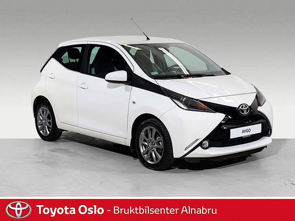 Toyota Aygo x-play 1,0 Ryggekamera,  2017, 23139 km, kr 139900,-
