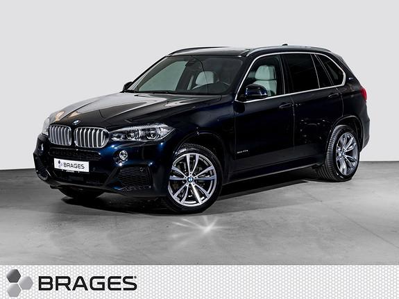 BMW X5 xDrive40e iPerformance 313hk M-Sport, Head-Up, Pano, Krok,  2018, 9600 km, kr 835000,-