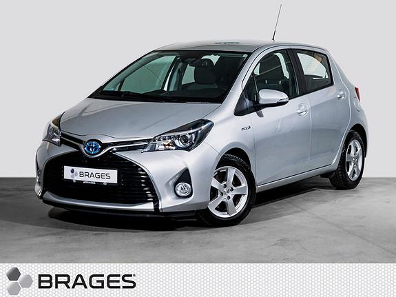 Toyota Yaris 1,5 Hybrid Active S e-CVT Navi, R.kam, DAB+, Cruise  2017, 12800 km, kr 209000,-