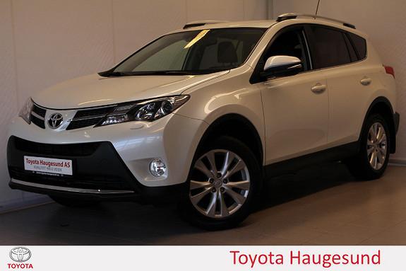 Toyota RAV4 2,0 4WD Multidrive S Executive navi, skinn, Tectyl  2013, 43915 km, kr 329000,-