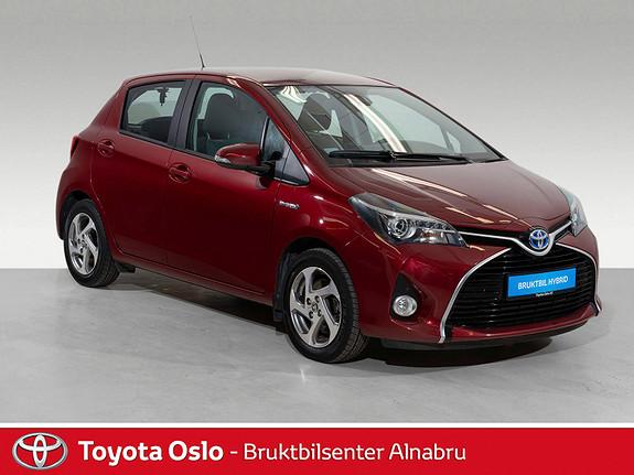 Toyota Yaris 1,5 Hybrid Active S e-CVT Navi, DAB+,  2017, 49427 km, kr 194900,-