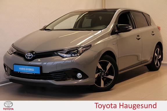 Toyota Auris 1,8 Hybrid E-CVT Sport Vision  2018, 4850 km, kr 289000,-