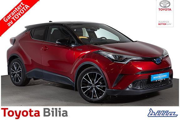 Toyota C-HR 1,8i Hybrid Lounge Tech  2018, 22085 km, kr 339900,-