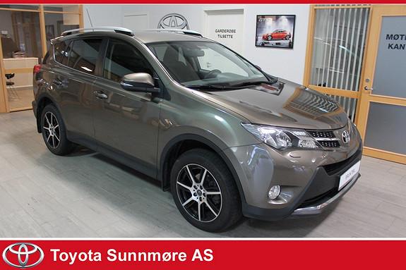 Toyota RAV4 2,0 D-4D 4WD Active **VELHOLDT**RYGGEKAMERA**4WD**NAVI*  2014, 56272 km, kr 289000,-