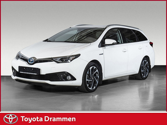 Toyota Auris Touring Sports 1,8 Hybrid Style Facelift, Navi  2015, 76720 km, kr 205000,-