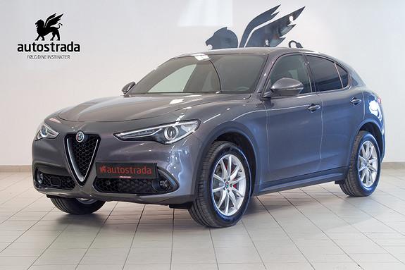 Alfa Romeo Stelvio 2.2d 210hk Q4 Sportspakke Navi KUN 1 BIL!