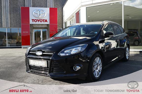Ford Focus 1,6 TDCi 115hk Titanium H.feste//Cruise//Varme i rute  2012, 163281 km, kr 89900,-