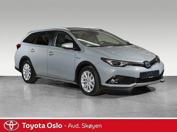 Toyota Auris Touring Sports 1,8 Hybrid Freestyle  2018, 3500 km, kr 309900,-