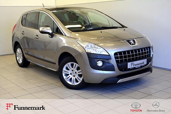 Peugeot 3008 1,6 Allure HDi 112 hk glasstak- henger feste-påkostet-  2011, 166000 km, kr 55000,-