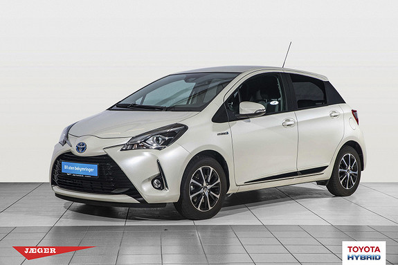 Toyota Yaris 1,5 Hybrid Active+ e-CVT aut  2018, 1352 km, kr 239000,-
