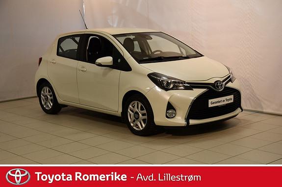 Toyota Yaris 1,0 Active S  2015, 61598 km, kr 139000,-
