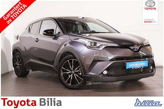 Toyota C-HR 1,8i Hybrid Lounge Tech  2018, 19152 km, kr 339000,-