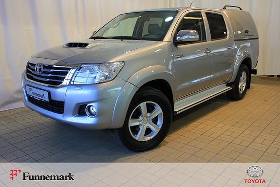 Toyota HiLux D-4D 171hk D-Cab 4WD SR+ Aut  2015, 53108 km, kr 369000,-