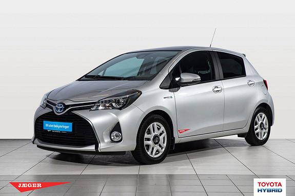 Toyota Yaris 1,5 Hybrid Style e-CVT  2015, 9000 km, kr 209000,-
