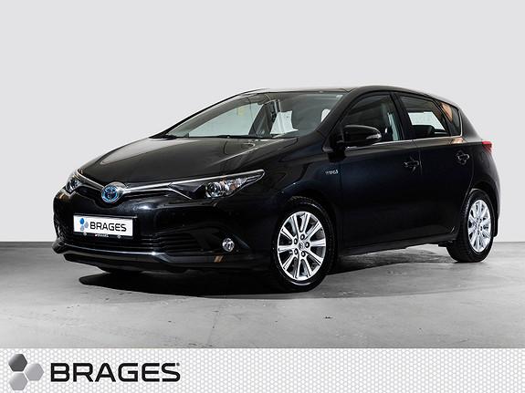 Toyota Auris 1,8 Hybrid E-CVT Active S Navi, DAB+, BT, Ryggek.  2016, 44300 km, kr 235000,-