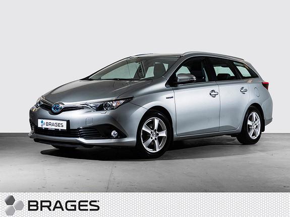 Toyota Auris Touring Sports 1,8 Hybrid Active S Navi, DAB+, BT,  2017, 32300 km, kr 269000,-