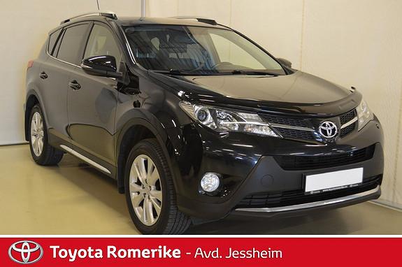 Toyota RAV4 2,0 D-4D 4WD Executive Hengerfeste  2014, 145400 km, kr 269000,-