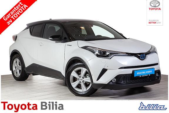 Toyota C-HR 1,8i Hybrid Lounge Tech Automat, hybrid, flott bil,  2018, 17161 km, kr 345000,-