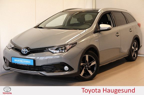 Toyota Auris Touring Sports 1,8 Hybrid Freestyle Glasstak, Tectyl  2018, 8576 km, kr 319000,-