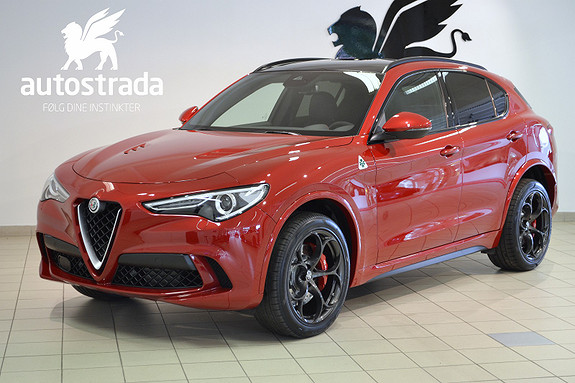 Alfa Romeo Stelvio Quadrifoglio 2,9 Bi-turbo verdens beste SUV