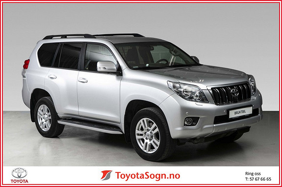 Toyota Land Cruiser LC 150 3,0 D-4D VX Aut  2013, 54000 km, kr 419000,-