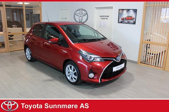 Toyota Yaris 1,5 Hybrid Style e-CVT **TOPPUTSTYRT**DELSKINN**DAB+**L  2014, 39000 km, kr 159000,-
