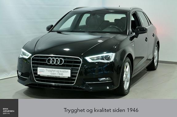 Audi A3 Sportback 1,2 TFSI 110hk Ambition S tronic  2015, 65500 km, kr 219000,-