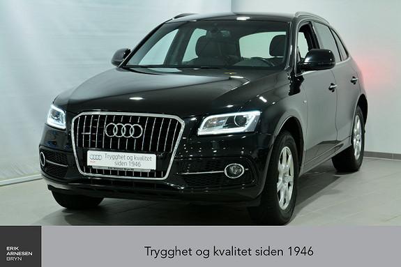 Audi Q5 2,0 TDI 163hk quattro S tronic  2016, 57600 km, kr 459000,-