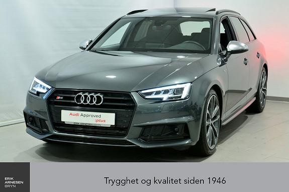 Audi S4 Avant 3,0 TFSI 354hk Quattro aut  2018, 15000 km, kr 849000,-